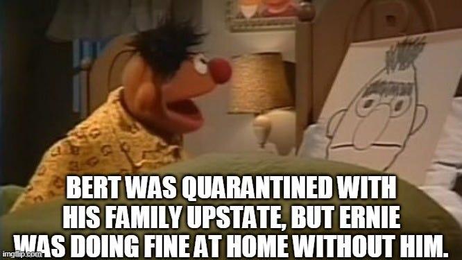 Lonely Ernie - Imgflip
