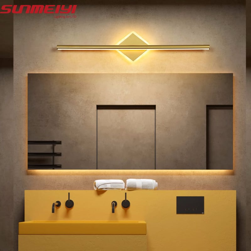 Nordic LED Wall Lamps Bathroom Wall Sconces Led mirror Light Bedroom Living room Industrial Modern applique murale luminaire