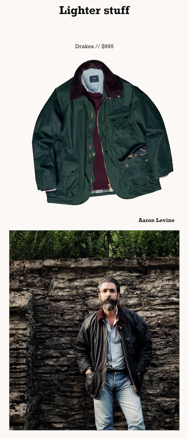 https://www.drakes.com/usa/clothing/coats-and-jackets/green-waxed-cotton-coverall-jacket