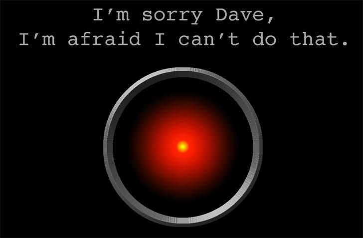 Hal 9000 | Las cosas que hemos visto...