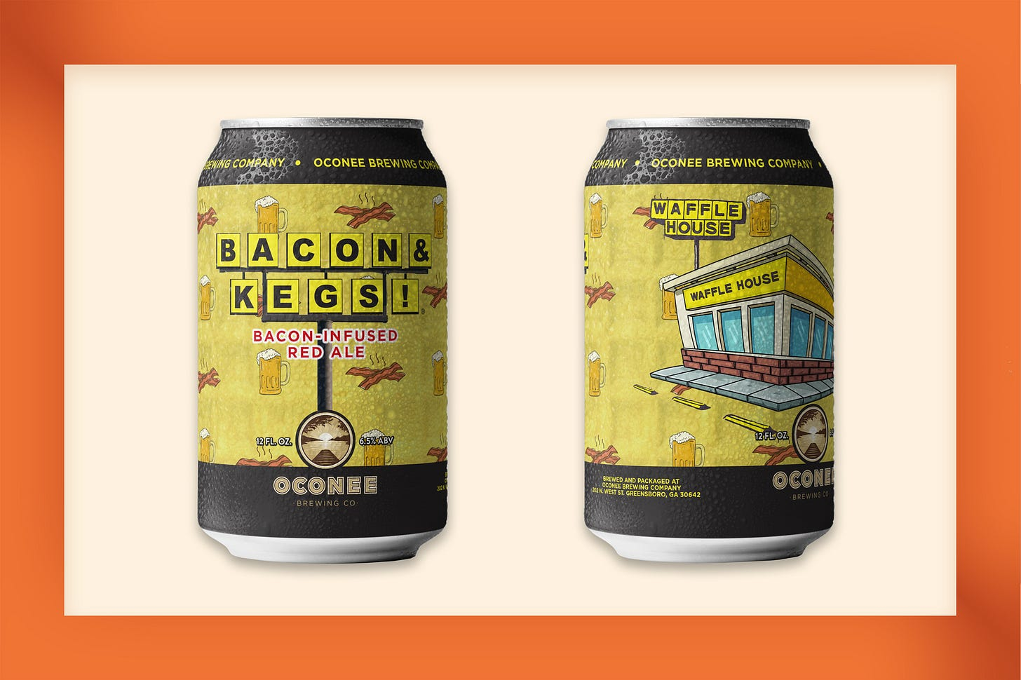Waffle House Bacon & Kegs beer