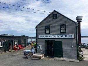 lobster shacks