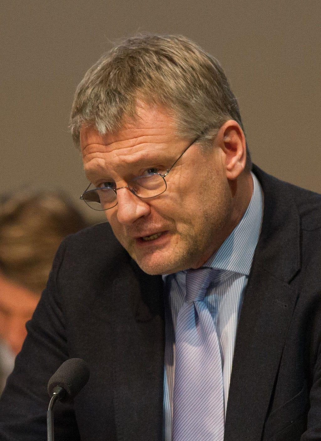 Jörg Meuthen, Head of the Afd - bigger than you think? ©Robin Krahl