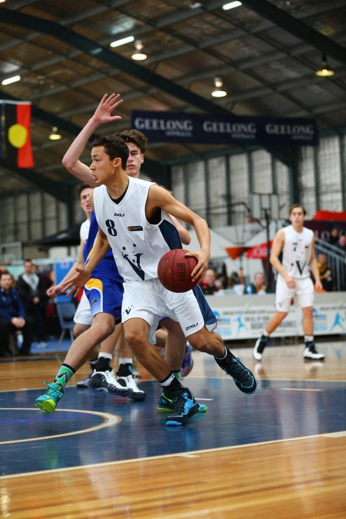 Christopher Cagle - Credit: Basketball Australia/Kangaroo Photo's