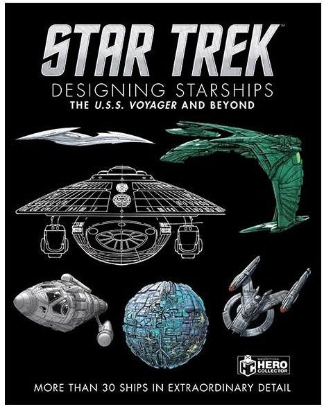 Book Review - Star Trek: Designing Starships - The USS Voyager and Beyond