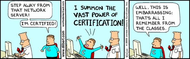 To Certify or not to Certify? - The Signal Chief