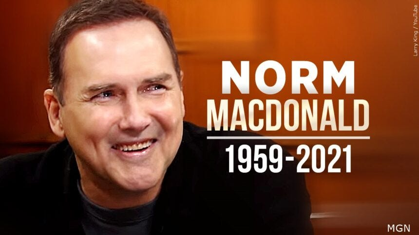 Norm Macdonald, former 'Saturday Night Live' comic, dies