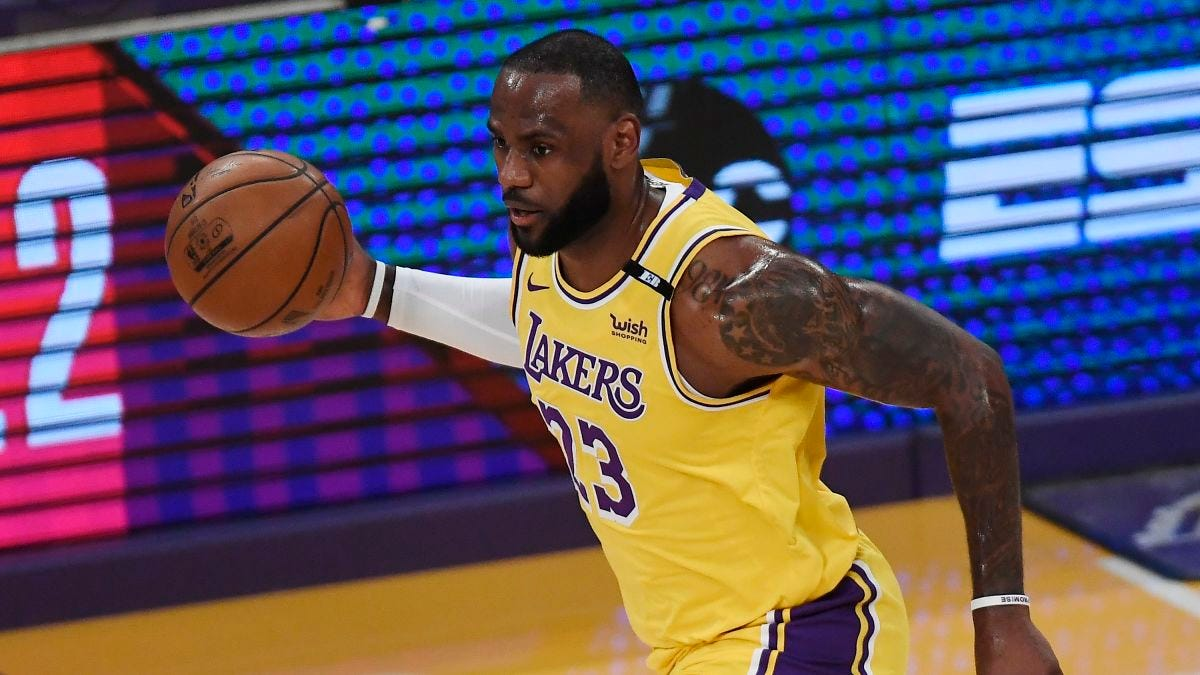 LeBron James hits game-winner as the LA Lakers beat the Golden State  Warriors, advance to playoffs - CNN