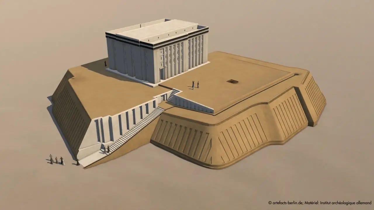 Image result for uruk white temple