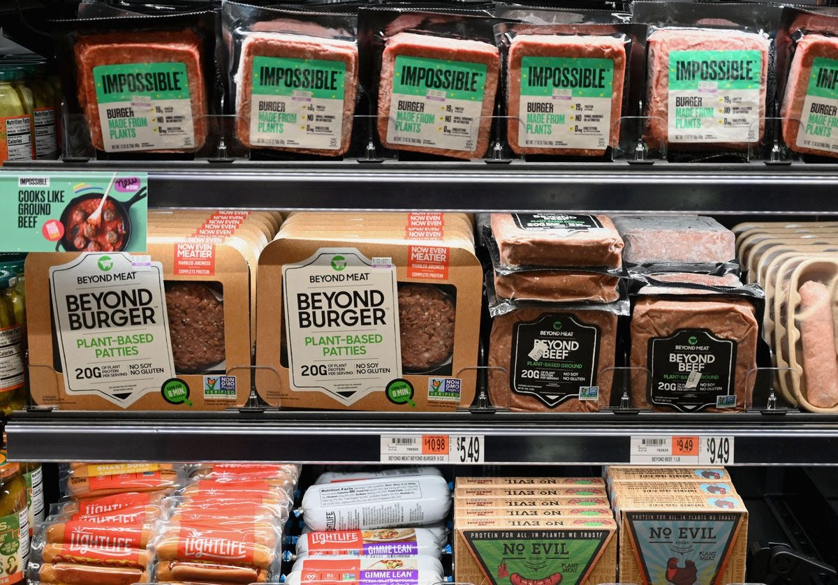 Impossible Foods Joins Beyond On The Shelves Of Walmart, America's No. 1  Meat Seller