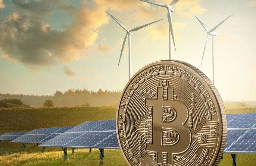 With corporate crypto ESG concerns, Ark, Square suggest Bitcoin for  renewables. What about Tesla? - Ledger Insights - enterprise blockchain