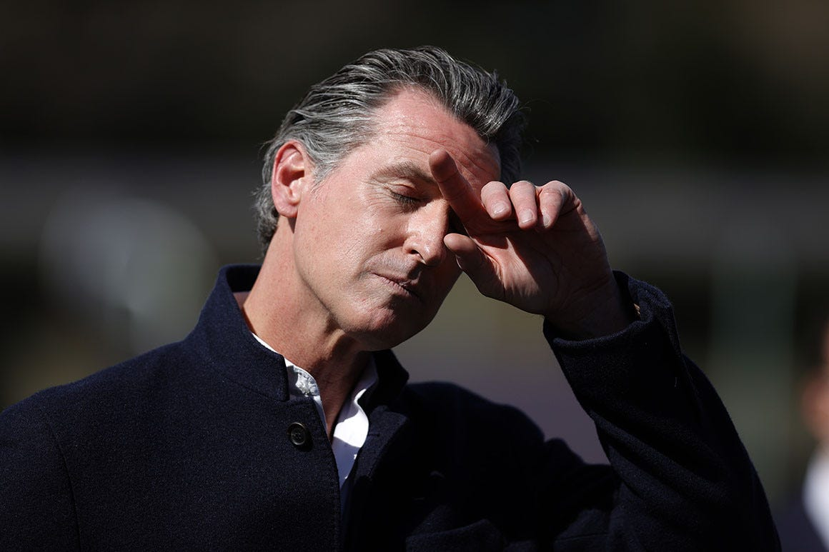 The pandemic fueled the Newsom recall. Will vaccines help him survive?