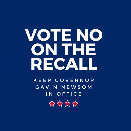 Vote NO on Recall - SoCal Blue