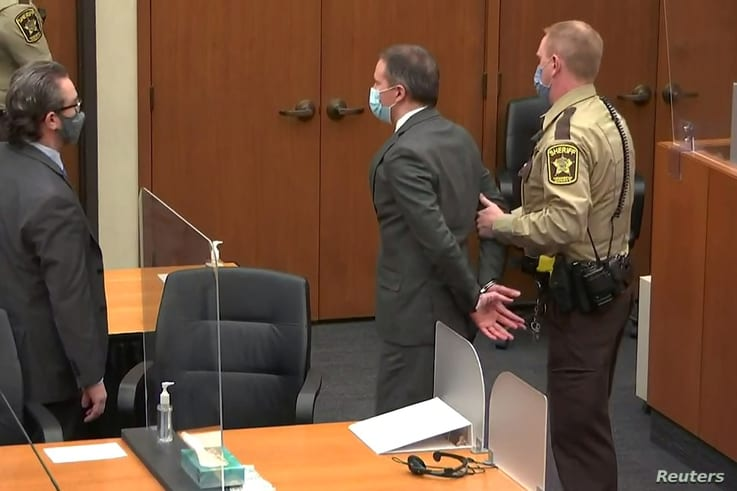 Chauvin Convicted on All Charges in Death of George Floyd | Voice of  America - English