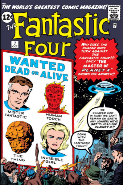 Fantastic Four Vol 1 7 | Marvel Database | Fandom