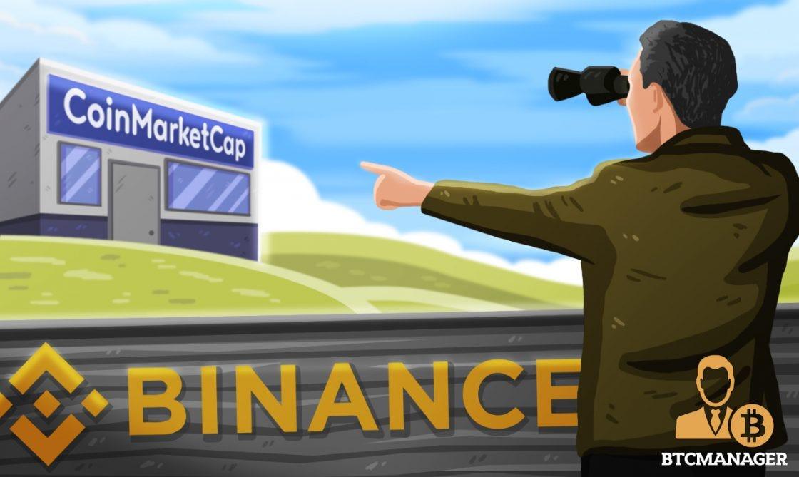 Report: Binance Plots $400 Million Acquisition of CoinMarketCap ...