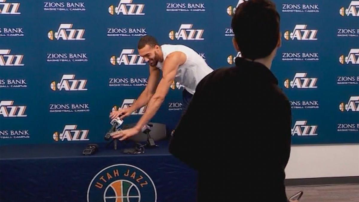 Rudy Gobert: Amid COVID-19 outbreak, NBA star faces backlash for prank - CNN