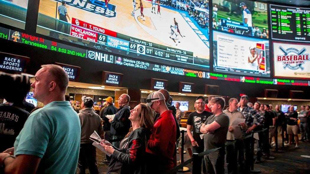 US sports betting revenue could reach $3.1 billion in 2021