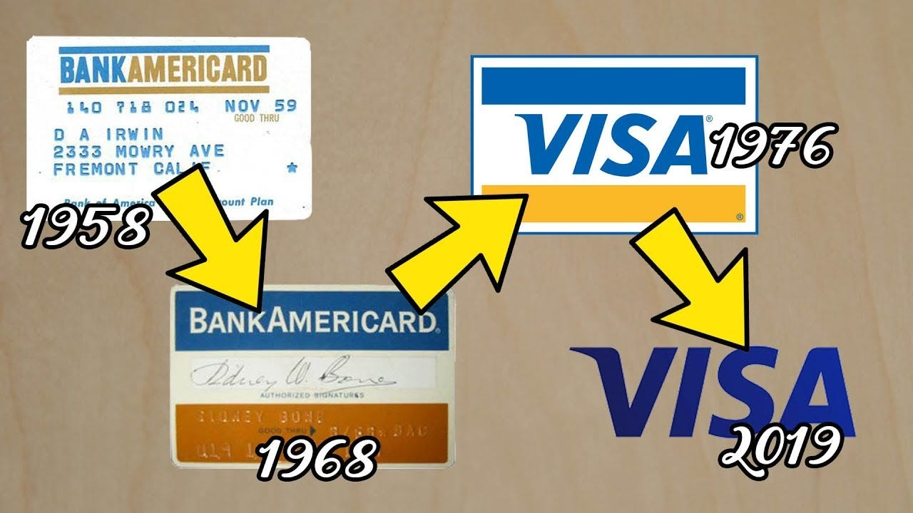 How BankAmericard Became Visa - Story of the First Credit Card - YouTube