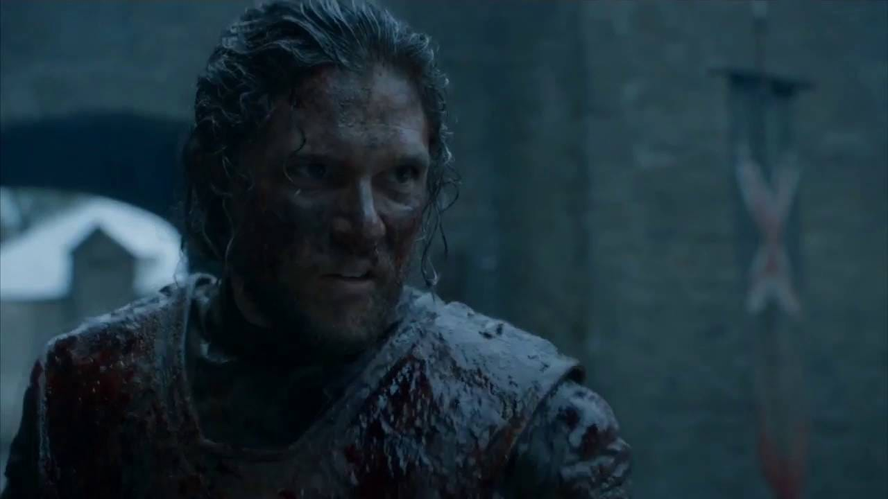 Jon Snow gives evil Ramsey Bolton a 21-punch salute - YouTube
