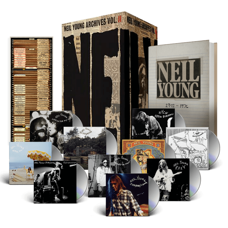 Neil Young Archives Volume II: 1972–1976