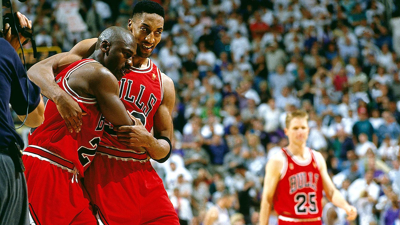 The truth behind Michael Jordan's infamous NBA Finals 'Flu Game' - ABC7  Chicago