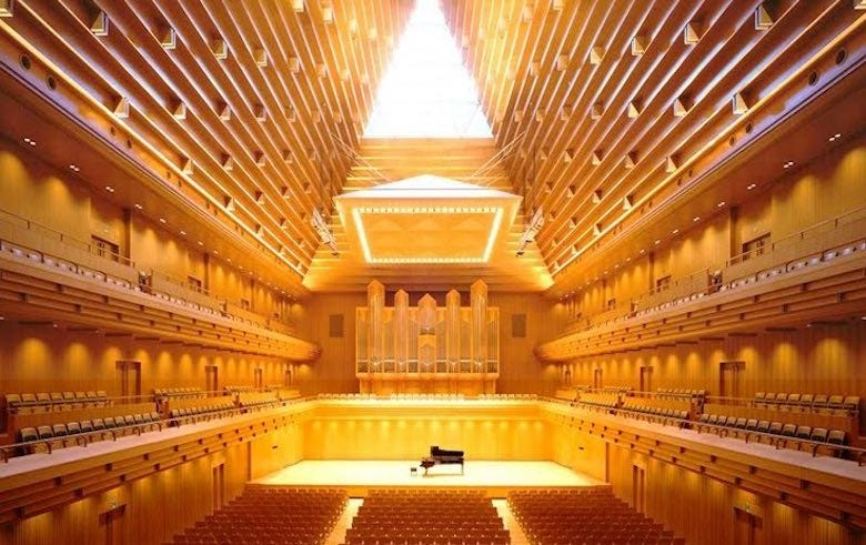 Opera de Tokio, Japon.