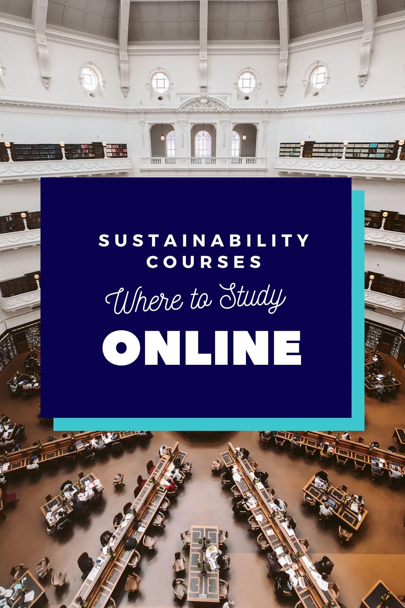 Sustainability Courses