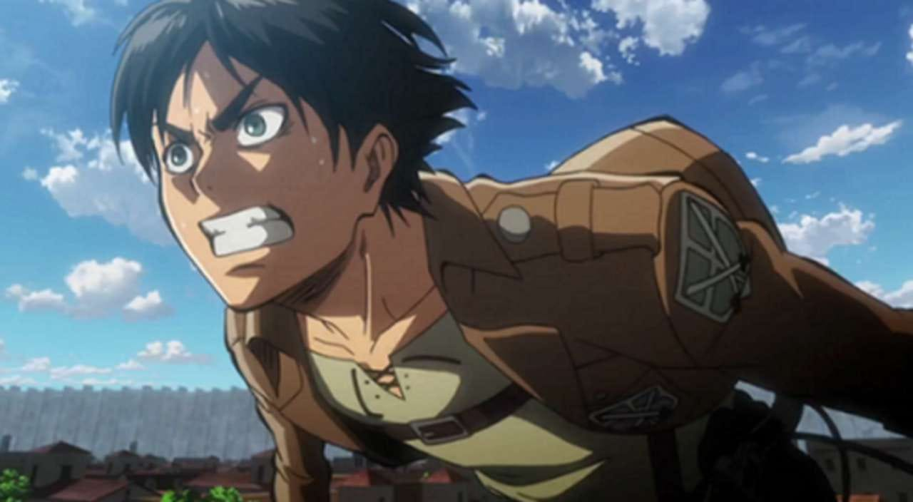 Attack on Titan' Drops Grisly New Poster Featuring Eren