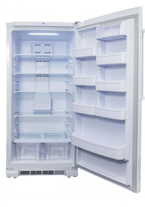 DAR170A3WDD   Danby Designer 17 Cu. Ft. Apartment Size Refrigerator   EN