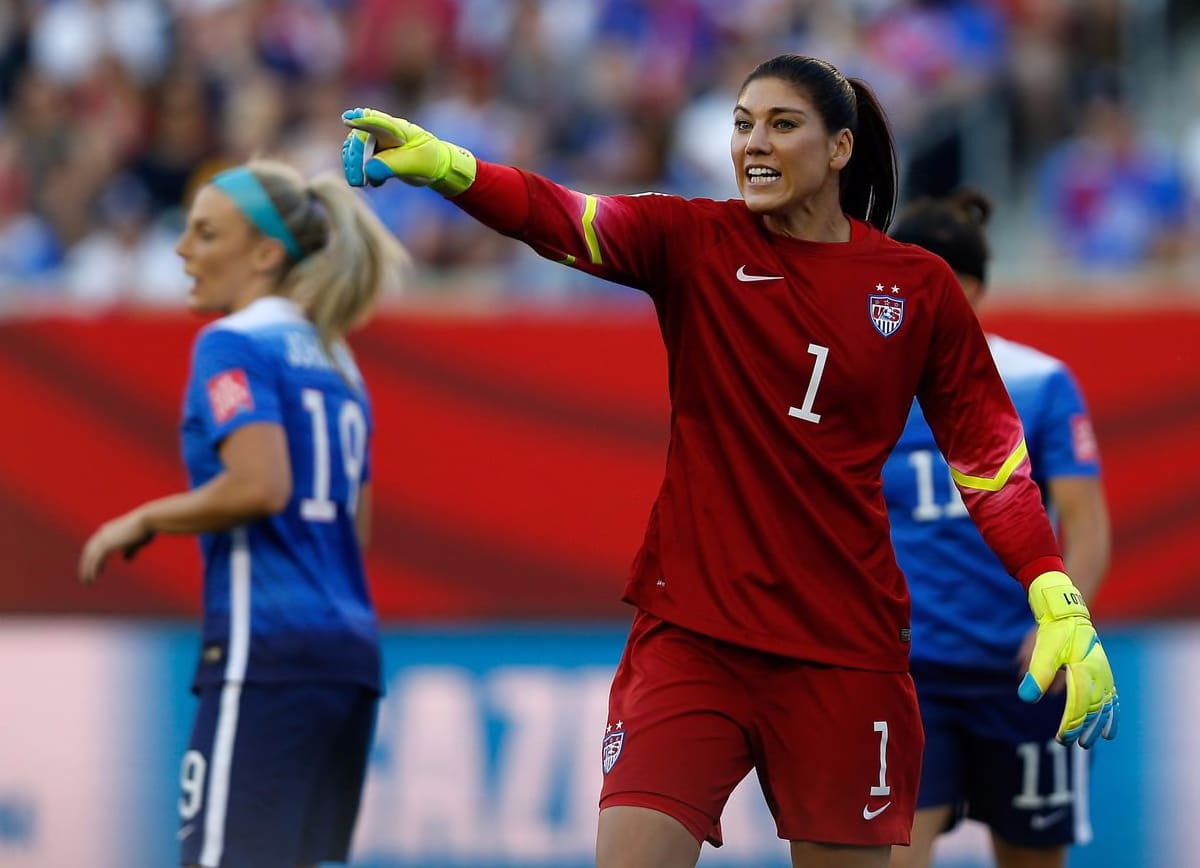 Hope Solo? She Might Be A Mess, But She's America's Mess - Hartford Courant