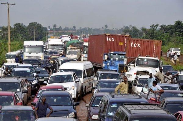 Lagos-Ibadan expressway Gridlock