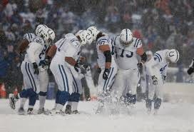 The effects cold weather can have on an NFL game