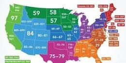 Image result for how did zip codes get assigned