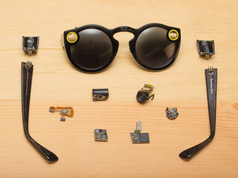 Snapchat Spectacles teardown
