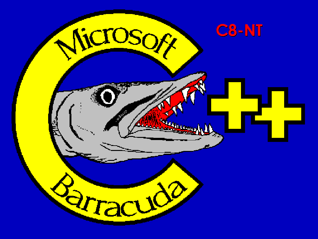 C* project logo was a colorful baracuda fish and code name for the project.