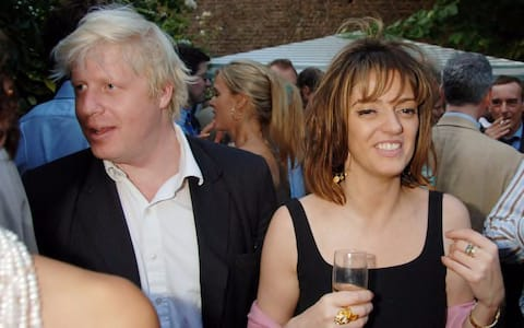Boris Johnson and Petronella Wyatt in 2006 at the Spectator summer party.
