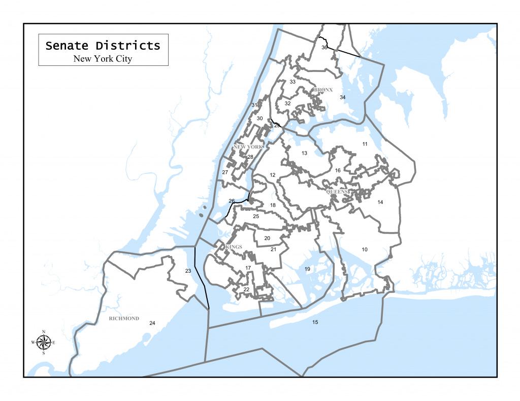 New York State Senate Districts