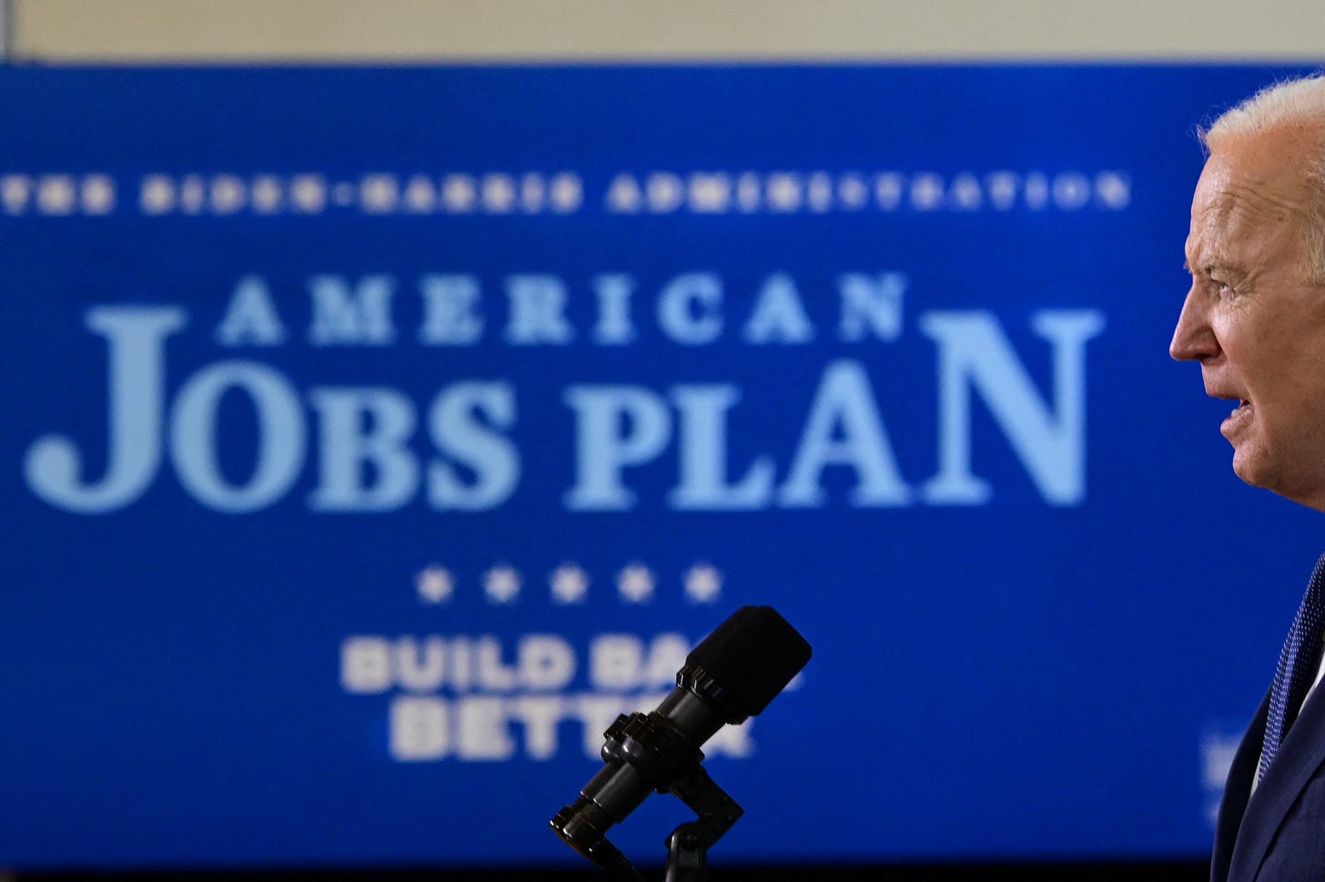 Biden introduces his plan. (Photo: Getty Images)