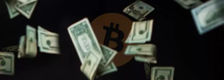 US dollar has lost 99.99% of its value against Bitcoin