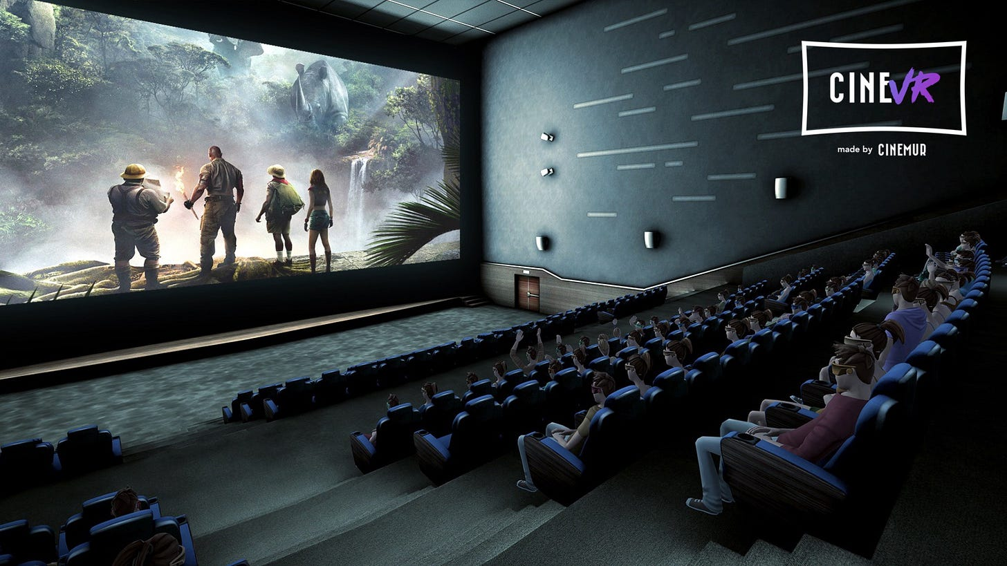 Sony Pictures and CINEMUR made a world first movie screening ...