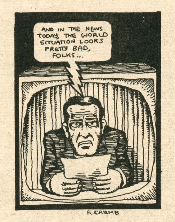 in the news today… R. Crumb