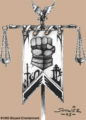 warcraft-ii-stromgarde-flag