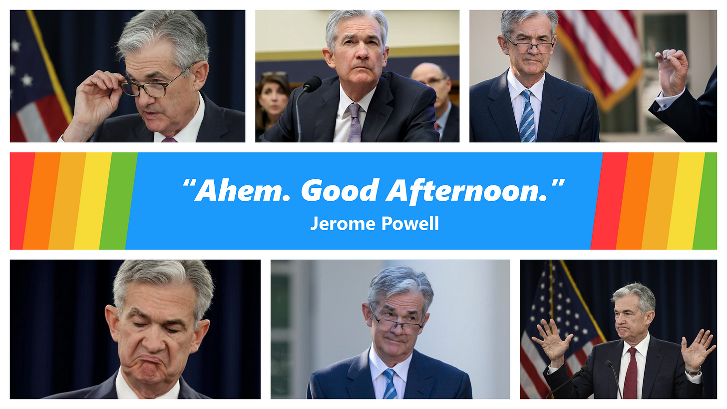 Here is a Powell Power Hour wallpaper : wallstreetbets