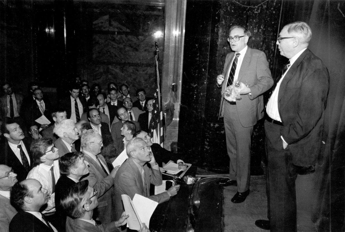 Humbler times: The annual Berkshire meeting wasn't always ...