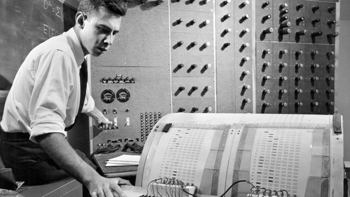 Frank Rosenblatt and the perceptron