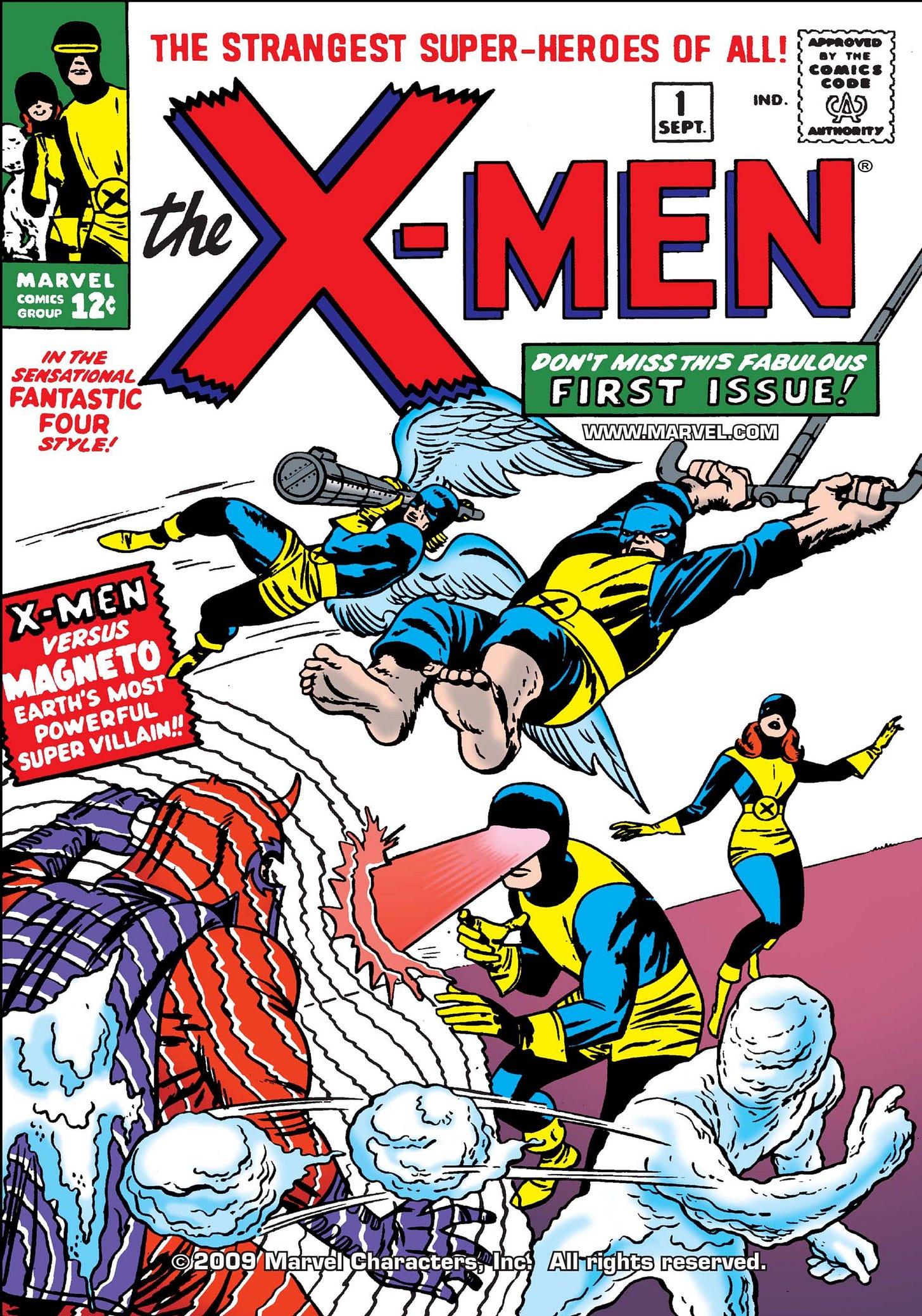 Uncanny X-Men (1963) #1   Comic Issues   Marvel