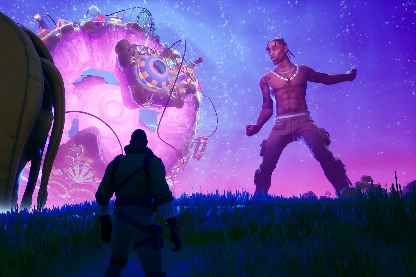 Travis Scott's 'Astronomical' Fortnite Event Was… Overwhelming ...