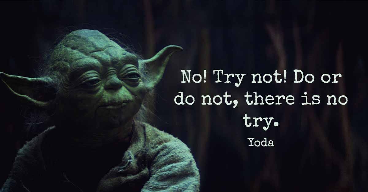 Yoda Is Right | My Pastor Says