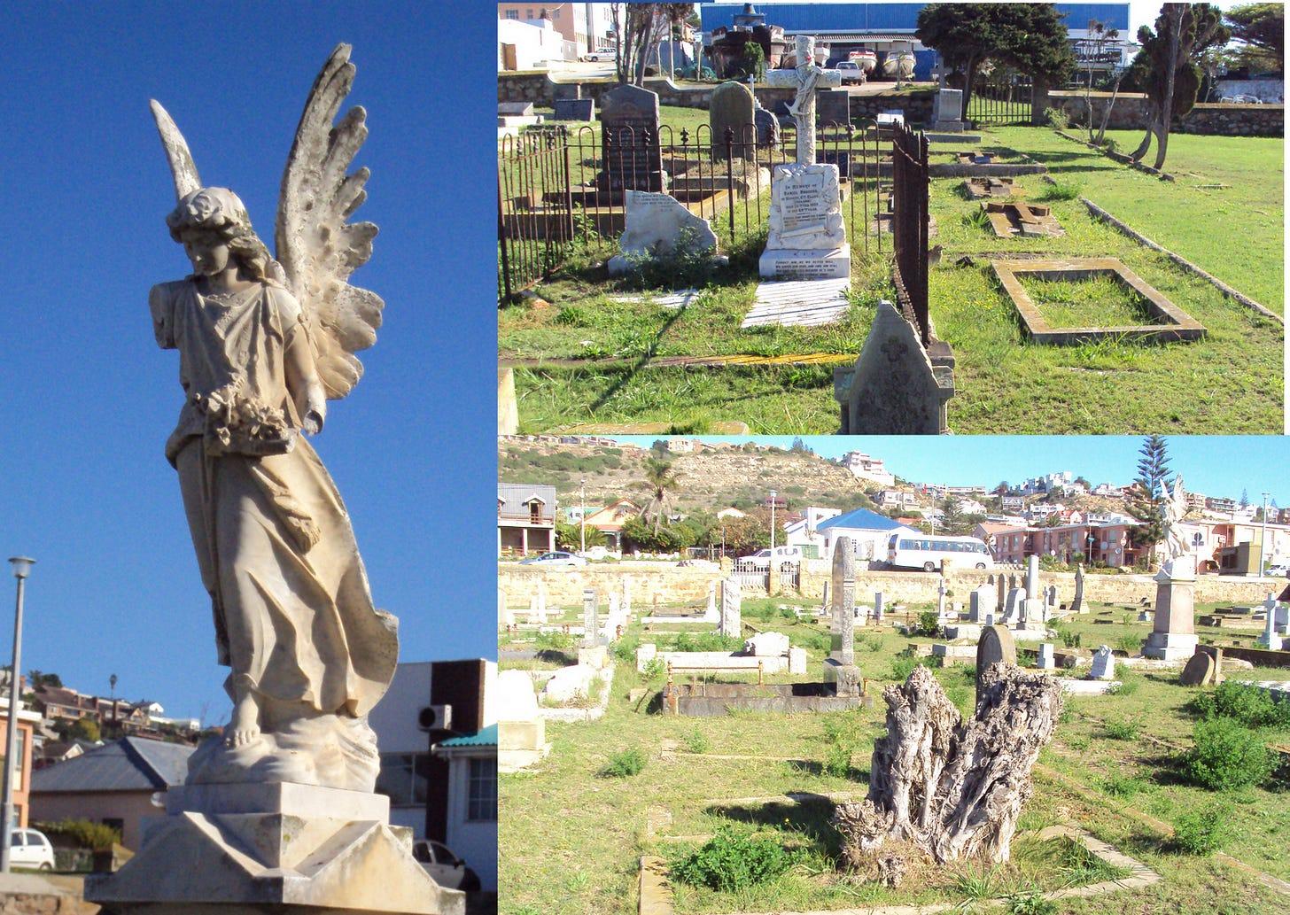 Various graveyard photos